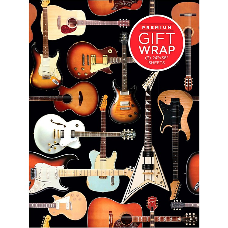 Hal LeonardGuitar Collage Wrapping Paper