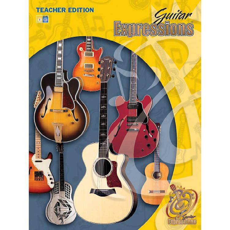 AlfredGuitar Expressions Teacher Edition Volume II Book CD & CD-ROM
