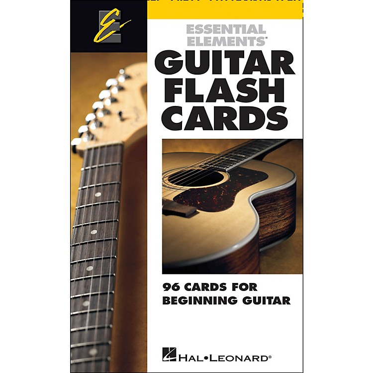 Hal LeonardGuitar Flash Cards - Essential Elements Guitar Extras