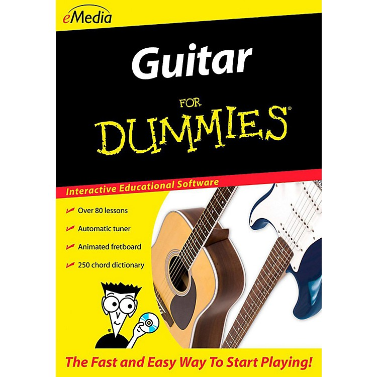 EmediaGuitar For Dummies - Digital DownloadWindows Version