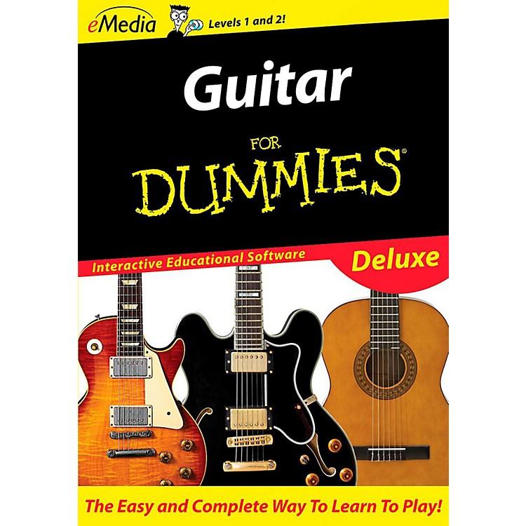 EmediaGuitar For Dummies Deluxe - Digital DownloadMacintosh Version