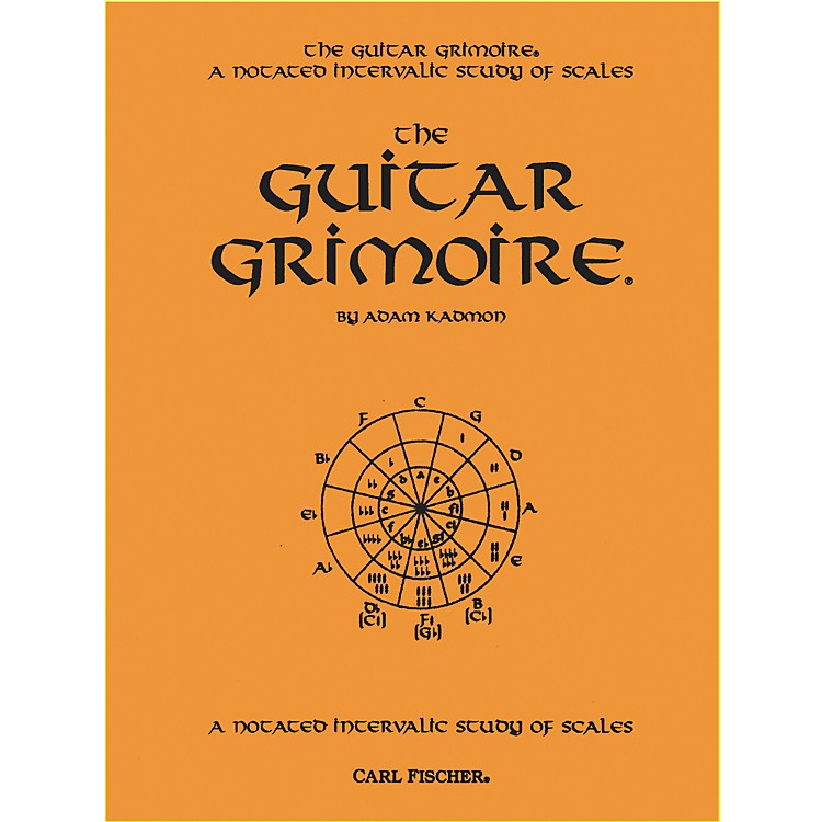 Carl Fischer Guitar Grimoire - A Notated Intervallic Study of Scale