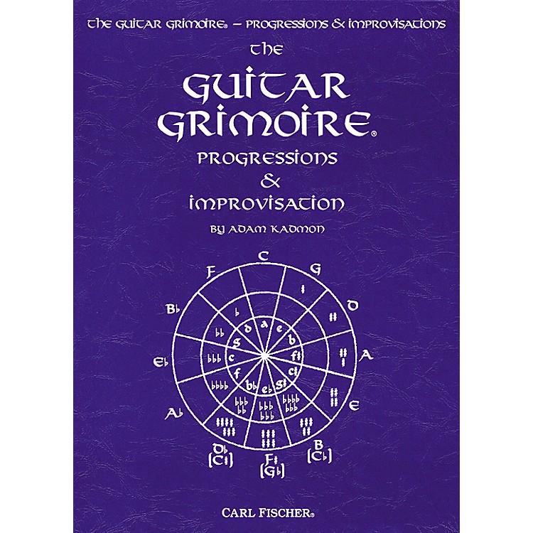 Carl FischerGuitar Grimoire - Progressions and Improvisations Book