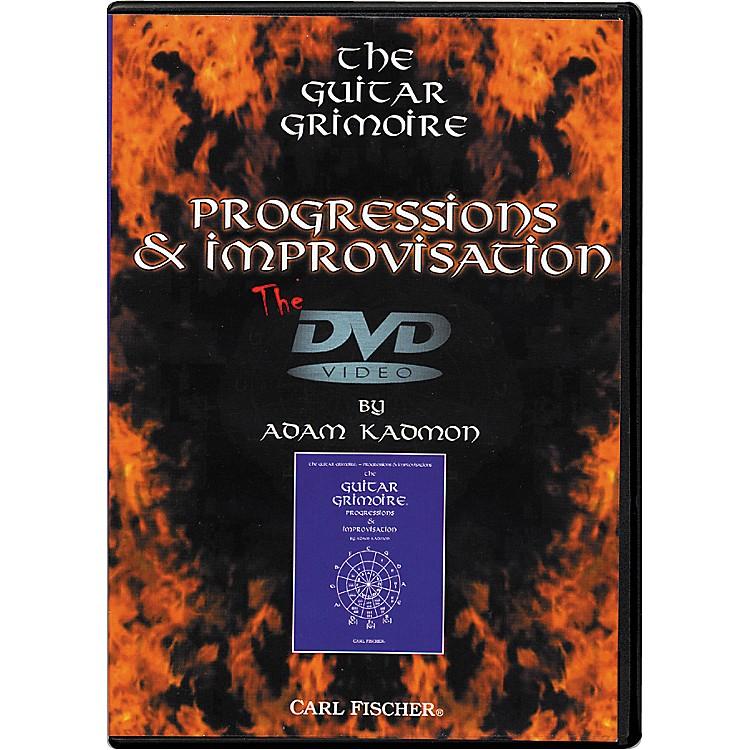 Carl FischerGuitar Grimoire Vol. 3 Progressions and Improvisations DVD