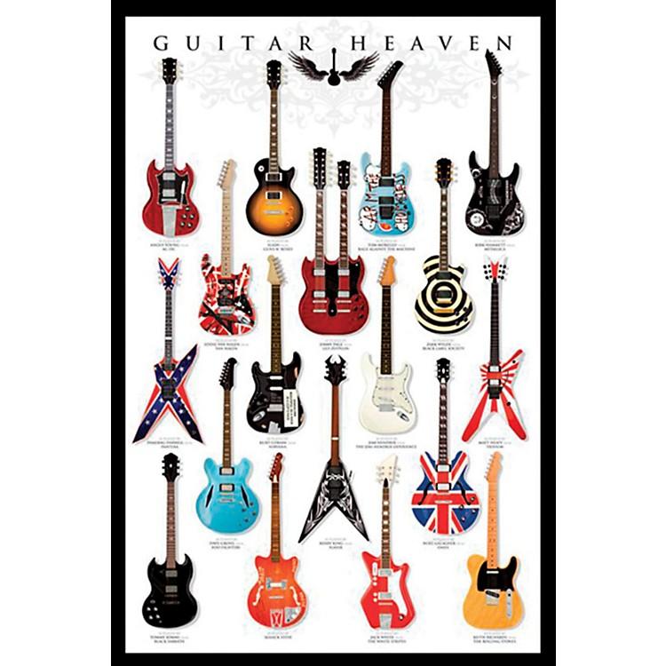 Ace FramingGuitar Heaven 24x36 Poster