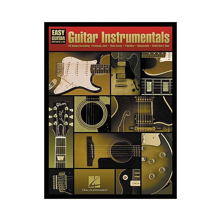 Hal LeonardGuitar Instrumentals For Easy Guitar Book