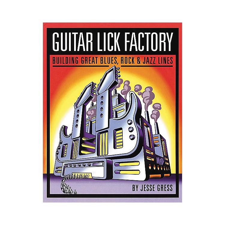 Backbeat BooksGuitar Lick Factory Book
