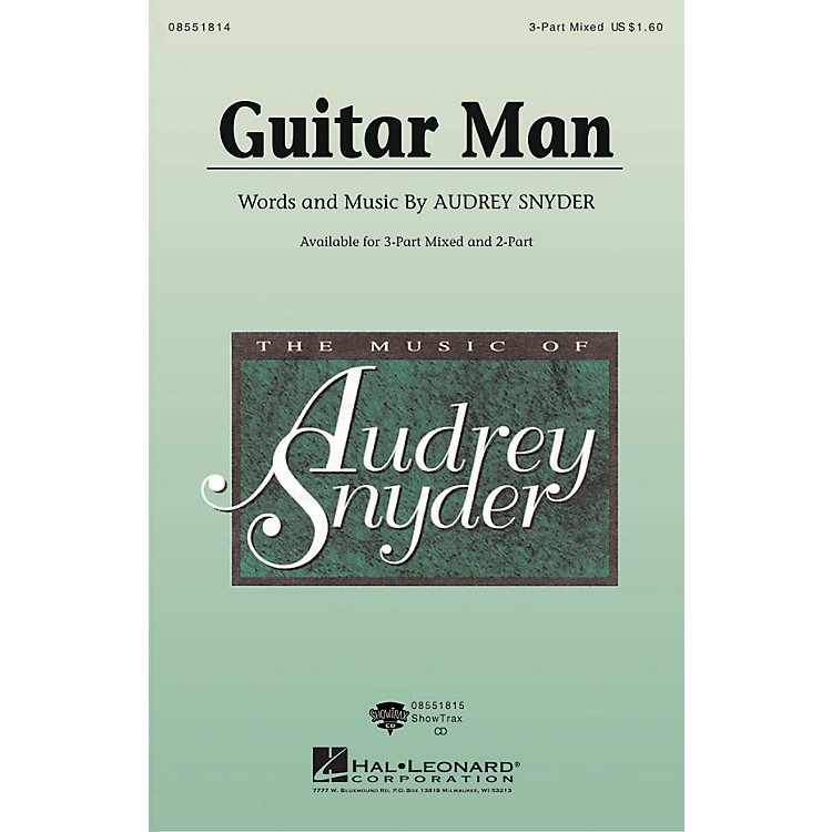 Hal LeonardGuitar Man ShowTrax CD Composed by Audrey Snyder
