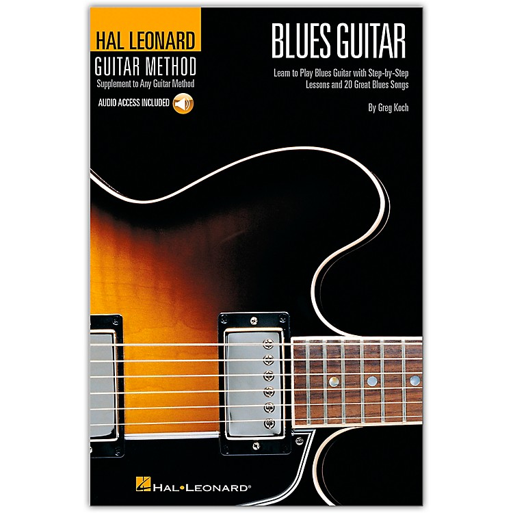 Hal LeonardGuitar Method - Blues Guitar (Book/CD)