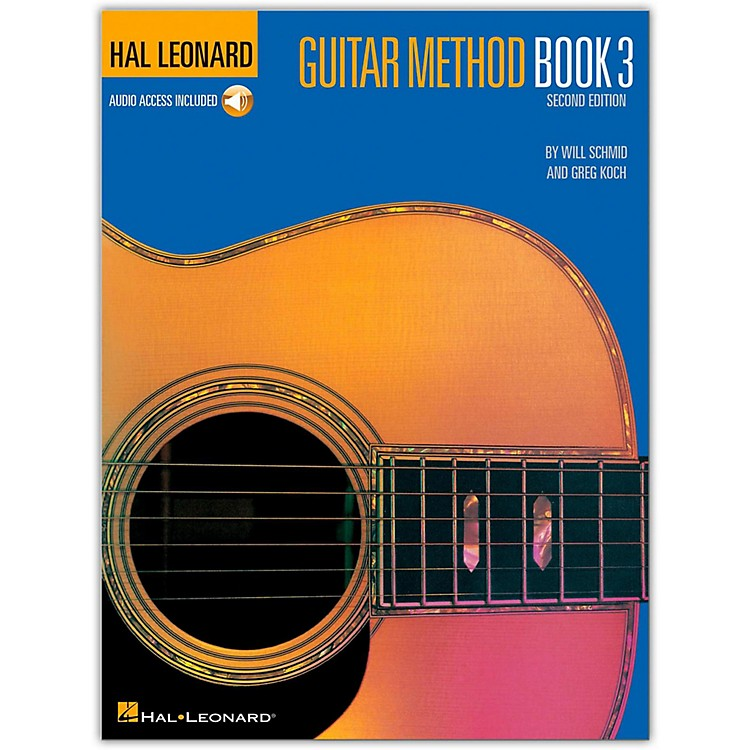 Hal Leonard Guitar Method - Book 3 (Book/Online Audio)