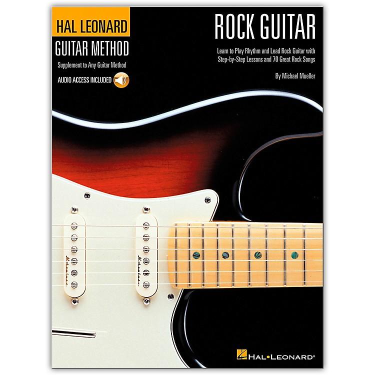 Hal LeonardGuitar Method - Rock Guitar (Book/Online Audio)