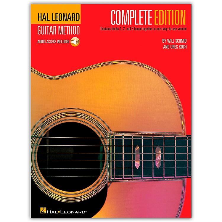 Hal LeonardGuitar Method Complete Edition (Book/CD)