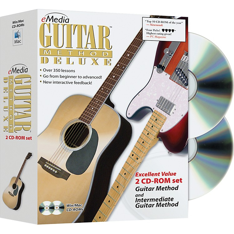 EmediaGuitar Method Deluxe 2 CD-ROM Set
