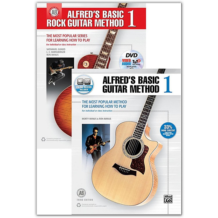 AlfredGuitar Method *With Free Book* Bundle of 00-43505 and 00-41455