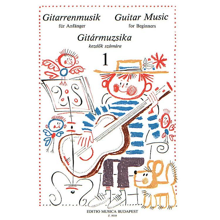 Editio Musica BudapestGuitar Music for Beginners - Volume 1 (Guitar Solo) EMB Series