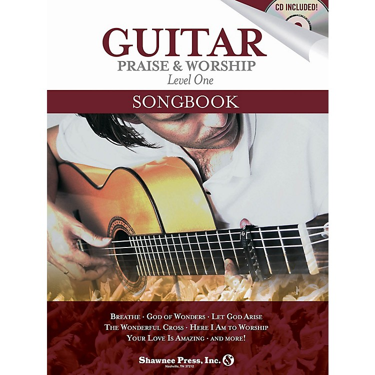 Shawnee PressGuitar Praise & Worship Songbook Shawnee Press Series Softcover with CD