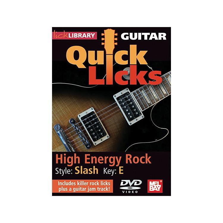 Mel BayGuitar Quick Licks - Slash Style, High Energy Rock (DVD)
