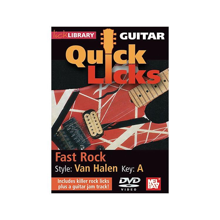 Mel BayGuitar Quick Licks - Van Halen Style, Fast Rock