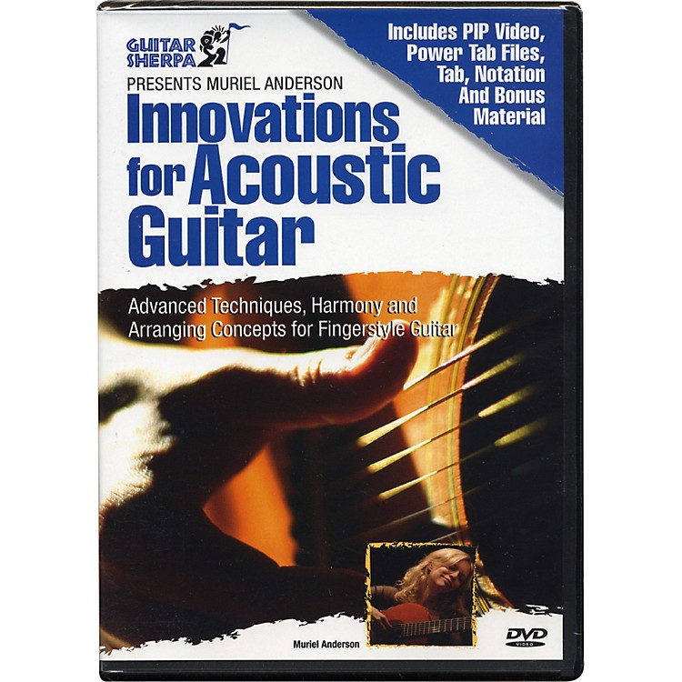 Music SalesGuitar Sherpa Presents Muriel Anderson: Innovations for Acoustic Guitar (DVD)