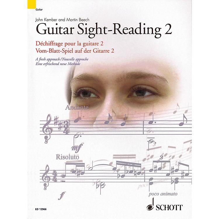SchottGuitar Sight-Reading 2 (A Fresh Approach) Guitar Series Softcover