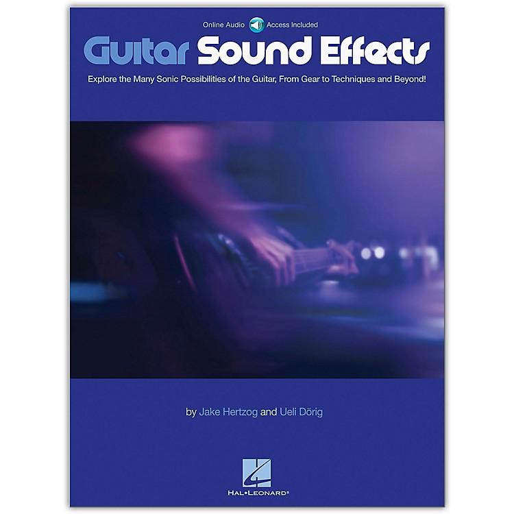 Hal LeonardGuitar Sound Effects Book/Audio Online