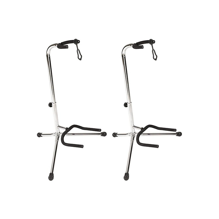 Proline Guitar Stand (2 Pack) Chrome