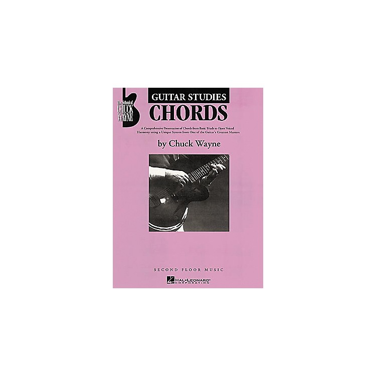 Second Floor MusicGuitar Studies - Chords Book by Chuck Wayne