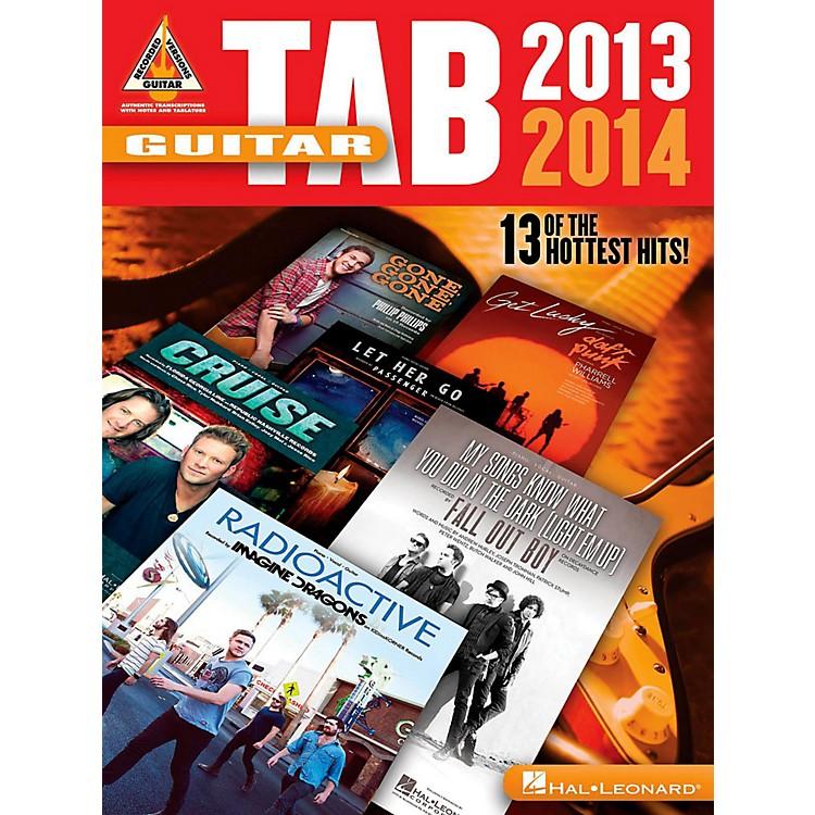 Hal LeonardGuitar Tab 2013-2014