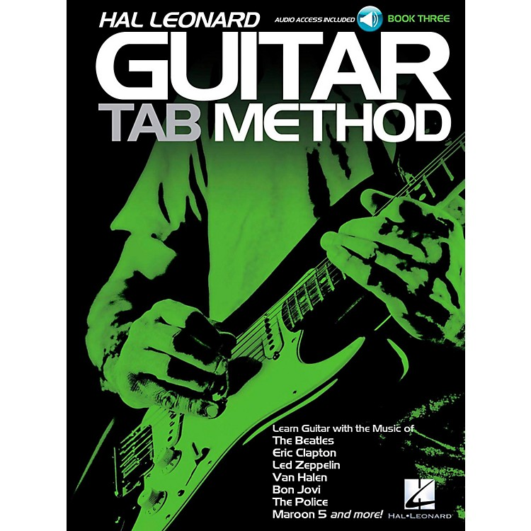Hal Leonard Guitar Tab Method Book 3 Book/Audio Online