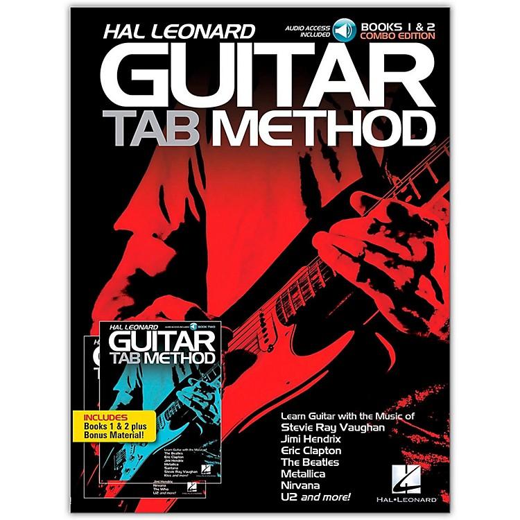 Hal LeonardGuitar Tab Method Books 1 & 2 Combo Edition (Book/Online Audio)