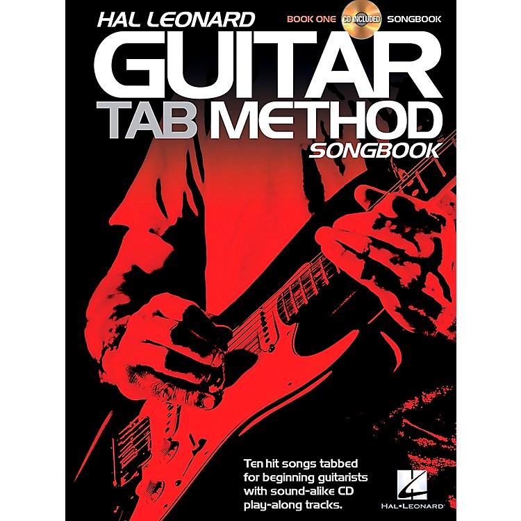 Hal LeonardGuitar Tab Method Songbook 1 Book/CD