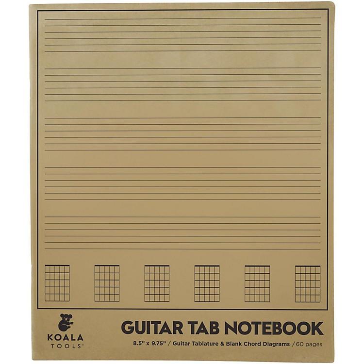 Koala MusicGuitar Tab Notebook