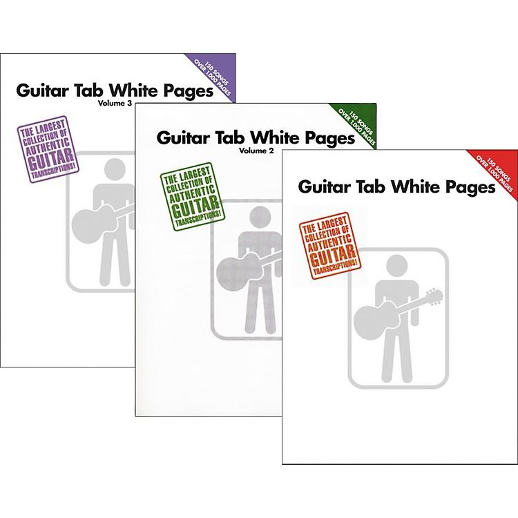 Hal LeonardGuitar Tab White Pages Vol. 1 - 3