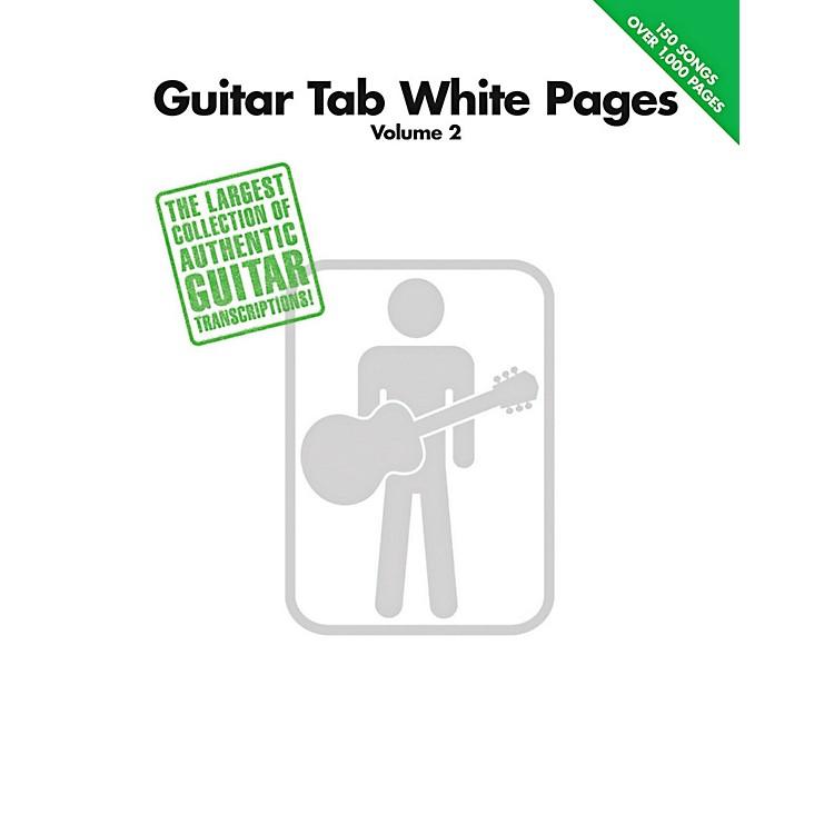 Hal LeonardGuitar Tab White Pages Volume 2 Songbook