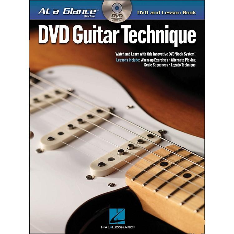 Hal LeonardGuitar Technique - At A Glance (Book/DVD)