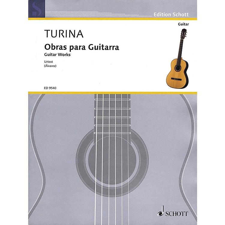 SchottGuitar Works (Obras Para Guitarra) Guitar Series Softcover