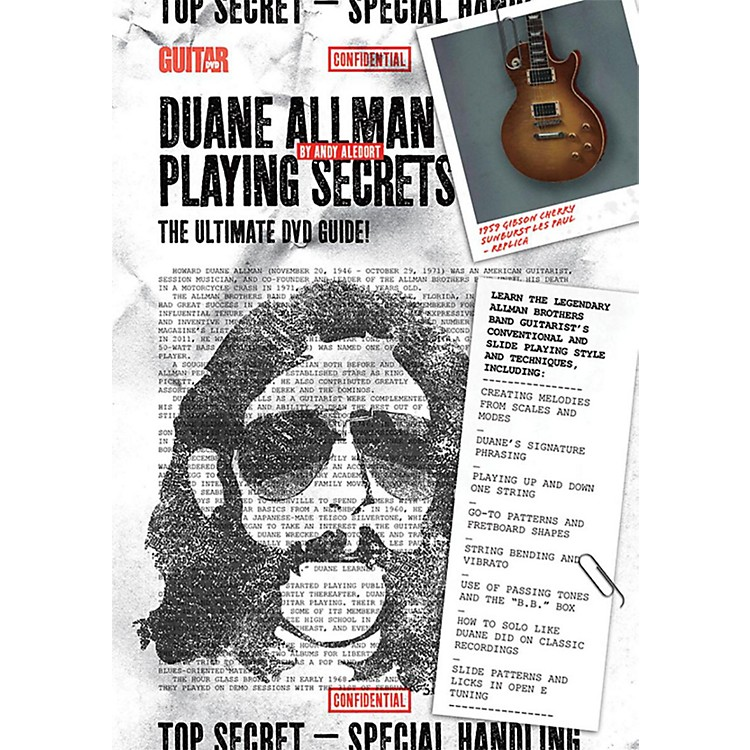 AlfredGuitar World - Duane Allman Playing Secrets DVD Intermediate