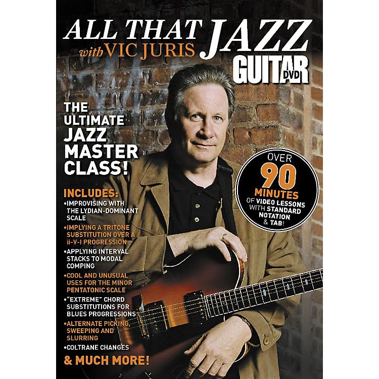 AlfredGuitar World All That Jazz Vic Juris DVD