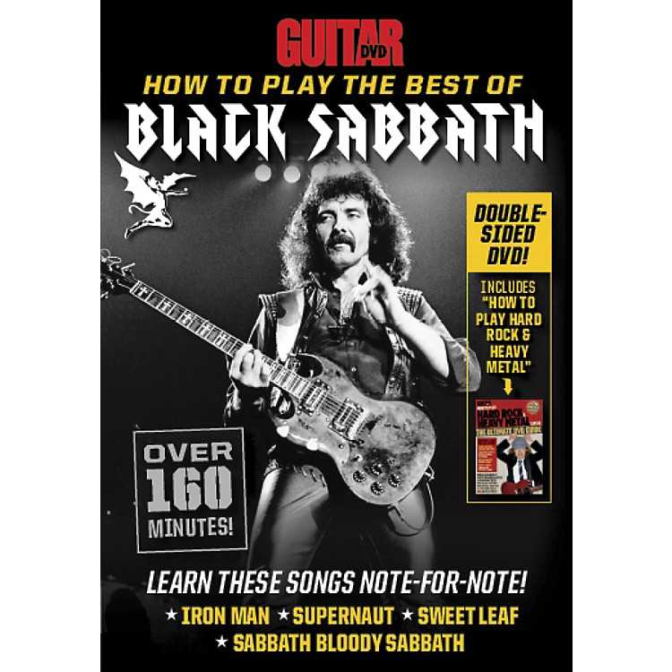 AlfredGuitar World How to Play the Best of Black Sabbath DVD