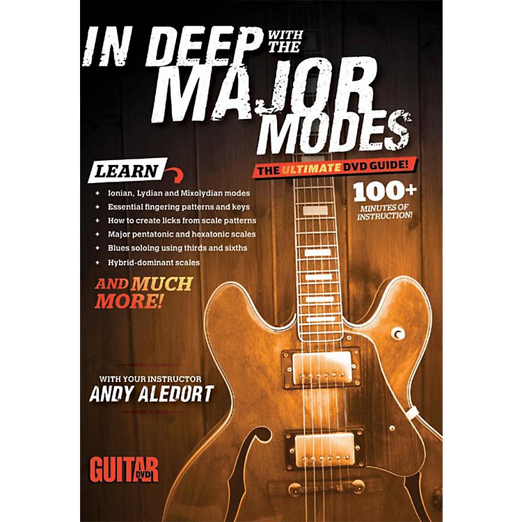 AlfredGuitar World In Deep with the Major Modes DVD