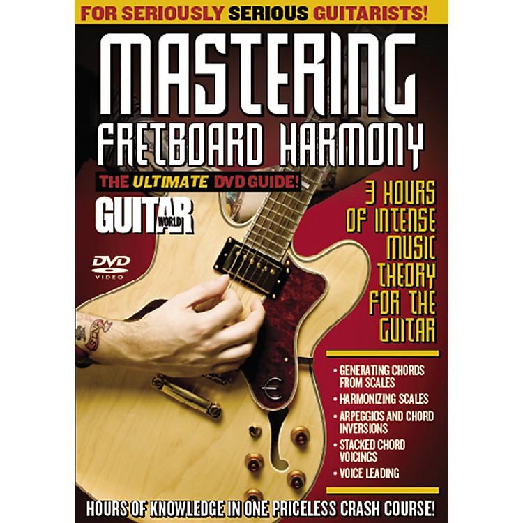 AlfredGuitar World: Mastering Fretboard Harmony (DVD)