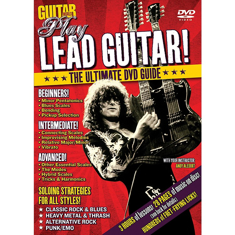 Alfred Guitar World Play Lead Guitar DVD
