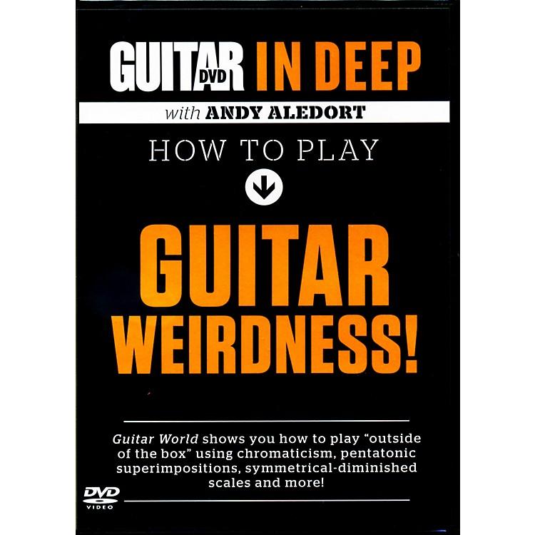 AlfredGuitar World in Deep: How to Play Guitar Weirdness DVD