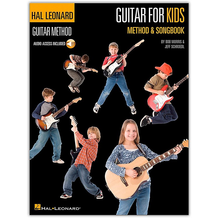 Hal Leonard Guitar for Kids Method & Songbook - Hal Leonard Guitar Method (Book/Online Audio)