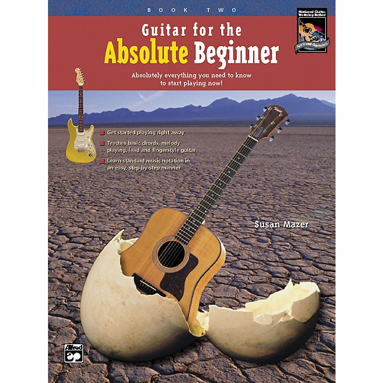 Alfred Guitar for the Absolute Beginner 2 CD