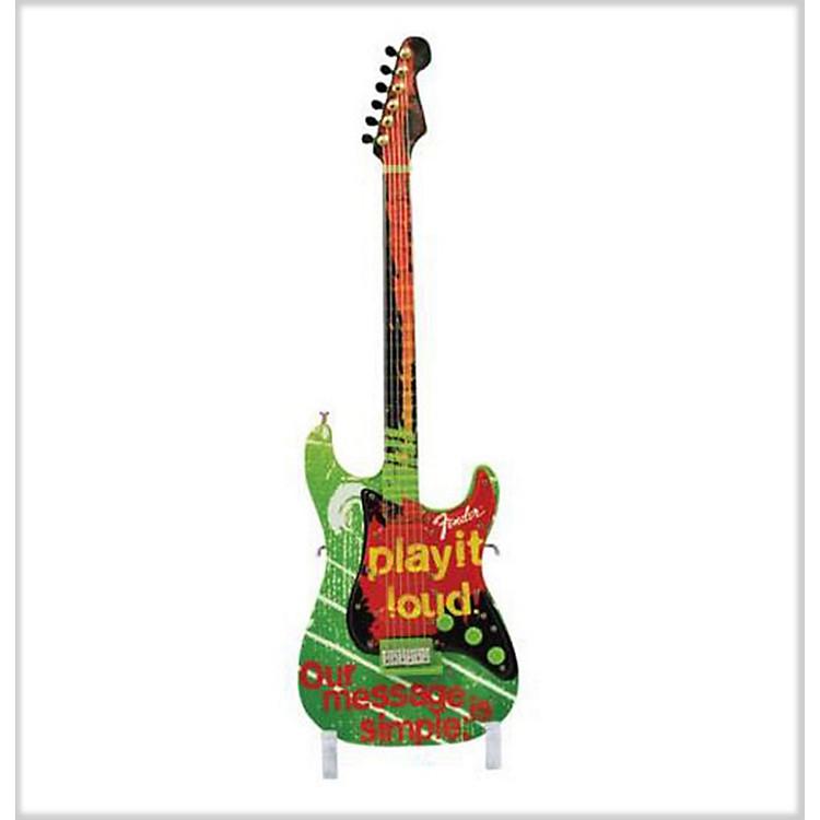 FenderGuitarMania Play It Loud Figurine