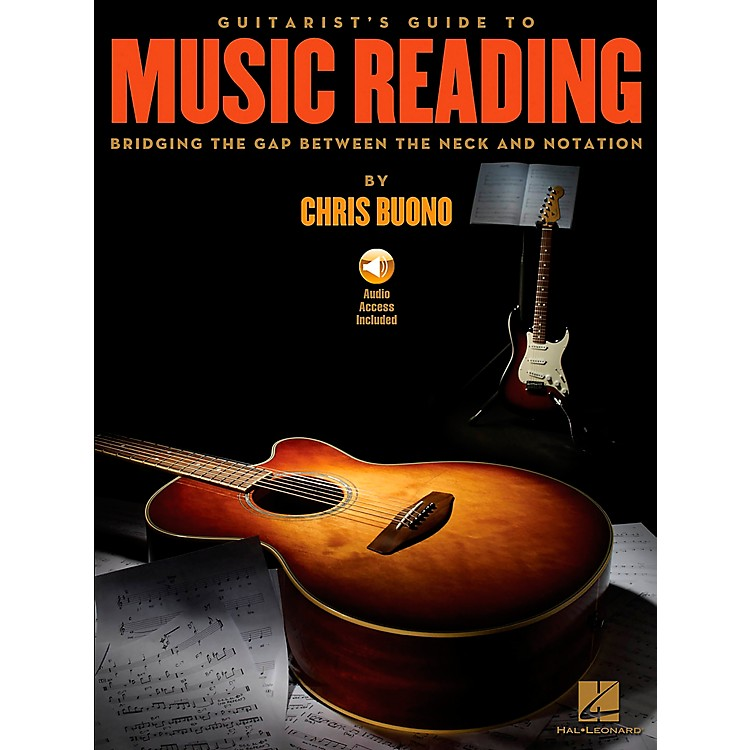 Hal Leonard Guitarist's Guide To Music Reading Book/DVD-ROM