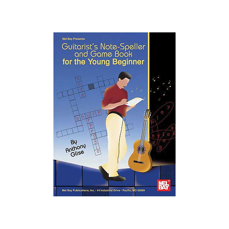Mel BayGuitarist's Note-Speller and Game Book for the Young Beginner (Book)