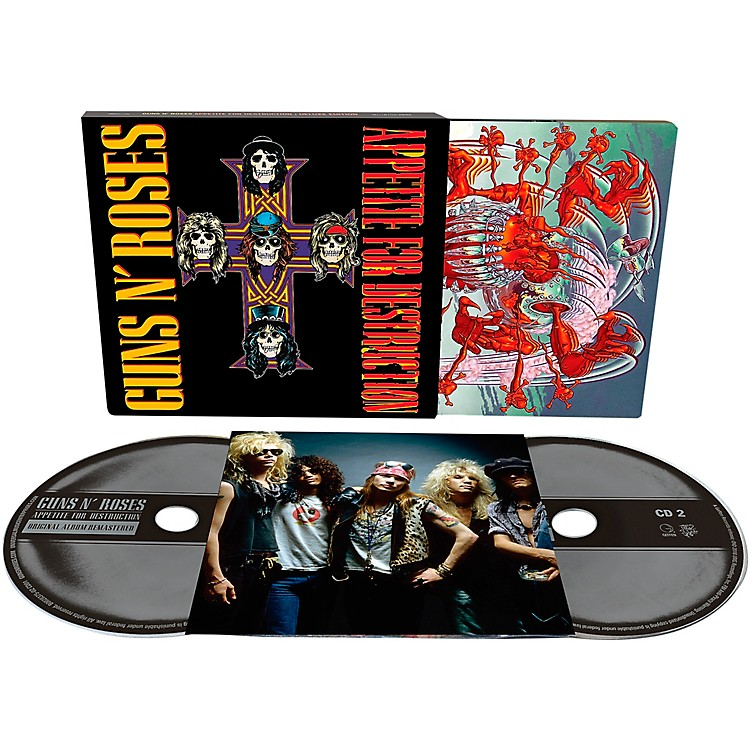 Universal Music Group Guns N' Roses - Appetite For Destruction Deluxe Edition 2 CD
