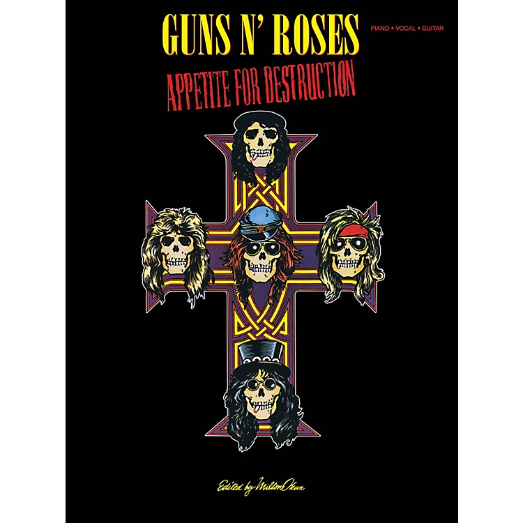 Cherry Lane Guns N Roses  Appetite For Destruction for Piano/Vocal/Guitar